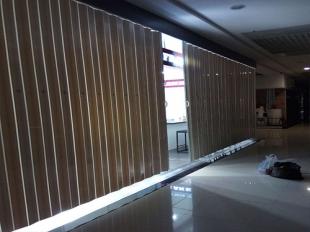贵阳PVC折叠门安装
