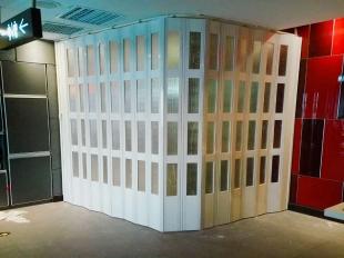 PVC豪华折叠门,隔断门,PVC折叠门